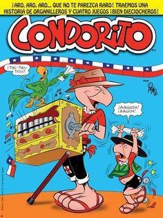 #Feliz18 Plop! Magazines For Kids, Comic Books, Children, Tattos, Ecuador, Happy, Chilean Flag, Caricatures, Drawings