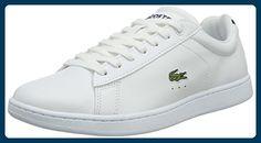Lacoste Damen Carnaby BL 1 Sneaker, Weiß (Wht 001), 42 EU - Sneakers für frauen (*Partner-Link)
