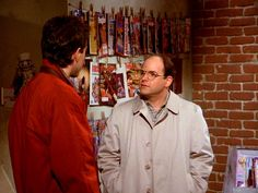 """George: """"You won't think I'm a bad person?""""  Jerry: """"Too late for that."""""""