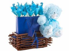 Baby Boy Basket at Chocolates Bouquets | Ignition Marketing Corporate Gifts