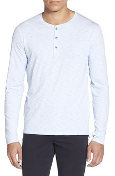 Vince Long Sleeve Henley available at  Nordstrom Camisetas Tipo Polo 35a485f9b4e89