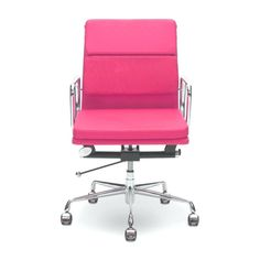 Pink Desk Chair with Arms - Best Desk Chair for Back Pain