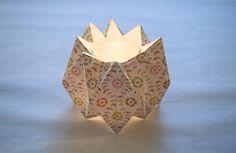 Réchauffe plat et origami