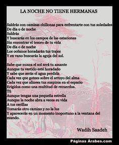 La noche no tiene hermanas - Wadih Saadeh