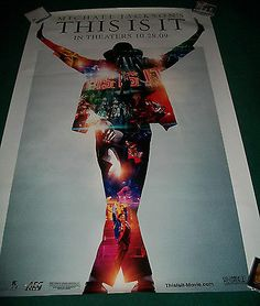 Michael Jackson This Is It Rare Bus Shelter Movie Poster Huge 48x72 2009 HTF - http://www.michael-jackson-memorabilia.com/?p=6364