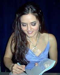 Danica Mae McKellar (born January 3, 1975) is an American actress, film director, academic, book author and education advocate. She played Winnie Cooper in the television show The Wonder Years, and later wrote four non-fiction books: Math Doesn't Suck, Kiss My Math, Hot X: Algebra Exposed and Girls Get Curves: Geometry Takes Shape, which encourage middle-school and high-school girls to have confidence and succeed in mathematics.