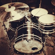 my c kit with imperial cymbals.
