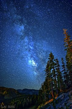 Milky Way, Mammoth Mountain, California