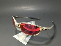 Oakley Juliet Sunglasses with custom Prizm lenses: http://www.oakleyforum.com/threads/juliet-custom-prizm-lenses-baseball-outfield-rose-red-color.42045/