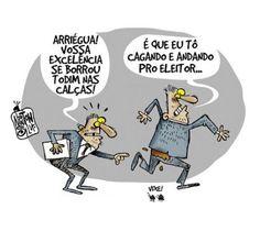 Chargista Cearense Newton Silva: CAGANDO E ANDANDO