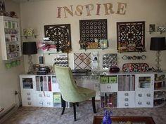 A Little Bit of Patti: Craft Room: Organization and Storage Ideas