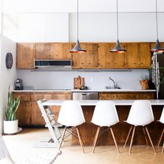 Find inspiration to update your kitchen in these before and after photos. (via Hither and Thither)