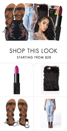 """Keep her around I swear that girl she a gem💎"" by ayeeitsdessa ❤ liked on Polyvore featuring NARS Cosmetics, NOVA, Billabong, WithChic and Zimmermann"