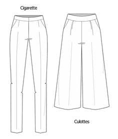 Tipos de calças: modelos e comprimentos - Industria Textil e do Vestuário - Textile Industry - Ano VIII