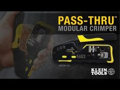 Pass-Thru™ Modular Crimper - VDV226-110 | Klein Tools - For Professionals since 1857