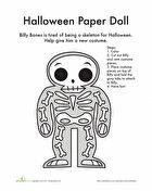 Paper Doll: Halloween Costume!