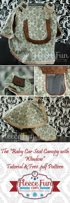 Sewing: Baby & Kids on Pinterest   Car Seat Covers, Baby Car Seats and ...