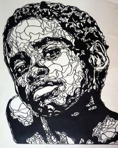 Kris Trappeniers paper cut art