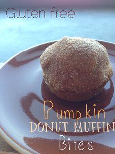 Gluten Free Pumpkin Donut Muffin Bites