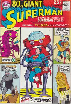 Superman 80pager. Monster X?