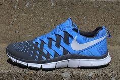 new arrival 6a16f 8e2b7 NIKE FREE TRAINER 5.0 (UNIVERSITY BLUE) Skor Sneakers, Nike Id, Mode