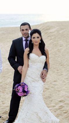 Nice wedding couple photo