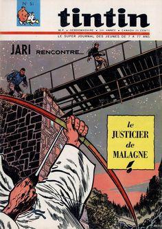 Le Journal de Tintin - Edition Belge - N°  1005 - 1966-51 - Mardi 21 Décembre 1965 - Couverture : Raymond Reding