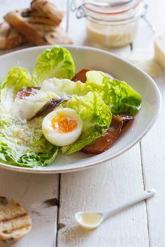 Caesar salad en boontje komt om het spreekwoordelijke loontje - Simone's Kitchen