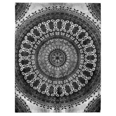 Charcoal Mandala Jigsaw Puzzle