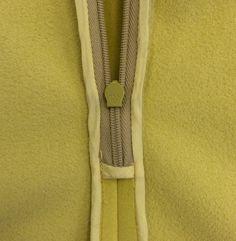 Ralph Rucci for Vogue Patterns V1404. Detail from the original designer dress. (interior)  #voguepatterns