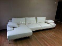 L-Shape Leather Sofa - Max9005