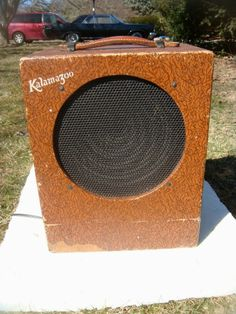 "GIBSON KALAMAZOO GUITAR AMPLIFIER, 1940'S, 1-10"", SOUNDS GREAT SERVICED ""PLAYER"""
