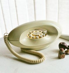 WANT - Vintage Genie Phone Cream French Country Boudoir by Gregarianne on Etsy