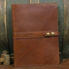 Leather No. 18 Portfolio in Brown