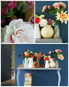 Create a longer lasting look by decorating your space with these DIY fake flowers ideas!