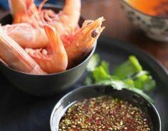 Thai Prawns with Fragrant Dipping Sauce #Prawans #Shrimp #Thai