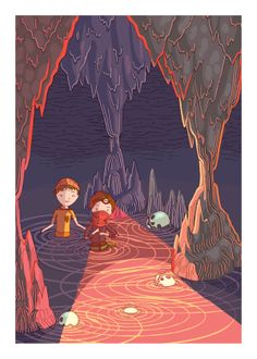 The Cave by DRIEHOEK. Illustrated by Megan Bird