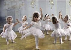 :) I love how the little ones are always in a world of their own and dance to the beat of their own drum. ❤