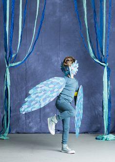 Nicole Mer Mag Bird Costume