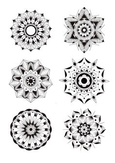 Love these geometric mandala flower tattoos Geometric Mandala Tattoo, Mandala Flower Tattoos, Geometric Flower, Flower Mandala, Geometric Tattoo Knee, Tattoo Flowers, Mandalas Drawing, Mandala Avant Bras, Polynesian Tattoos