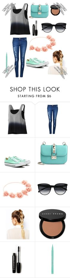"""""""For @karenmahone"""" by lalagirl27-1 ❤ liked on Polyvore featuring adidas, Converse, Valentino, CÉLINE, ASOS, Bobbi Brown Cosmetics, Forever 21 and Urban Decay"""