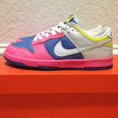 Neon Color Nike Dunk