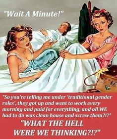 Finally... Someone said it Vintage Advertisements, Vintage Ads, Pin Up, No Kidding, Gender Roles, Twisted Humor, Adult Humor, Going To Work, Clean House