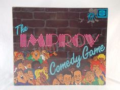 The Improv Comedy Board Game 1989 Vintage As Seen on TV Comedy Club New box Damg #ImprovWestAssociates