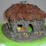 Autumn fairy homes... something a little more substantial as the weather turns cooler.