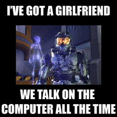 oh halo <3  (geek problems)