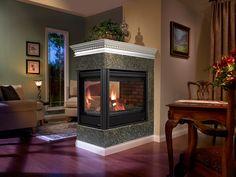 Heatilator Peninsula Gas Fireplace
