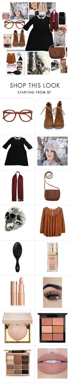 """""""Tysm for 1,000 followers this is for u guys"""" by aysiaismej ❤ liked on Polyvore featuring GET LOST, Sandro, Wilsons Leather, Aéropostale, Freddie Grove, H&M, The Wet Brush, Elizabeth Arden, Stila and MAC Cosmetics"""