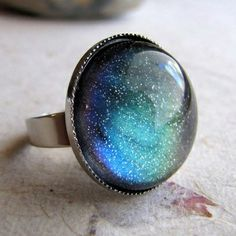 Northern Lights Ring on the redditgifts Marketplace #redditgifts