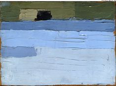 STAEL, Nicolas de. Untitled. (Ref#: 894 ). 1952. Oil on cardboard. Size in Cm: 24 x 33.